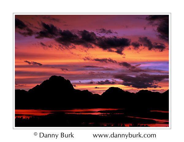 Picture: Sunset, Teton Range from Signal Mountain, Grand Teton National Park, Wyoming