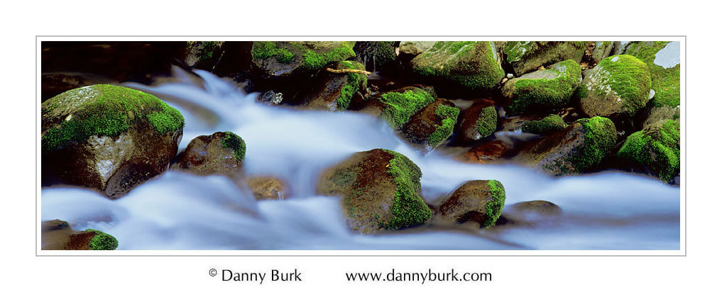 Mossy Cascade, Roaring Fork, Great Smoky Mountains National Park, Tennessee