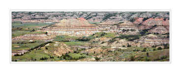 Picture: Painted Canyon panorama, Theodore Roosevelt National Park, North Dakota
