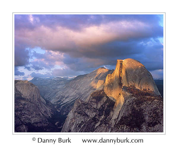 Picture: Half Dome at sunset, Glacier Point, Yosemite National Park, California